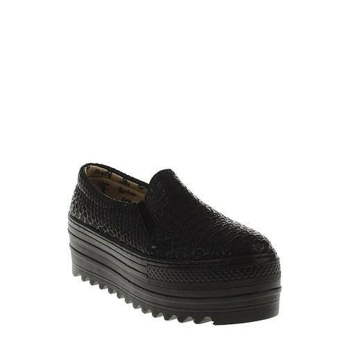 Derigo Siyah Croc Kadın Ayakkabı 2218593