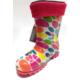 Hobi Store Çocuk Yağmur Çizmesi ( Turuncu Desenli )