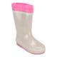 Pink Step A3310347 Beyaz Kız Çocuk Yağmur Çizmesi