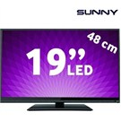 "Axen(SUNNY) 19"" (48cm) Piano Black Tasarım LED TV"