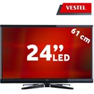 "Vestel 24PH5030 24""  FULL HD UYDU ALICILI UsbMovie LED TV (Dahili Askı Aparatı)"