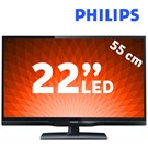 "Philips 22PFH4109 22"" UsbMovie Full HD LED TV"