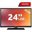 "Vestel 24VF3045 24"" UsbMovie FULL HD LED TV( Dahili Askı Aparatı )"