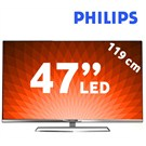 "Philips 47PFK6309 47"" SMART 3D Full HD LED TV + 4 Gözlük (Ambilight Teknolojisi)"