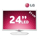 "LG 24MT45D 24"" Usbmovie HD LED TV (Beyaz Tasarım)"