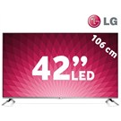 "LG 42LB652V 42""  3D SMART FULL HD LED TV + 2 Adet 3D Gözlük"
