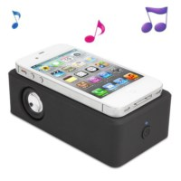 BuldumBuldum Boose Interaction Amplifying Speaker - Boose Kablosuz Hoparlör - Siyah