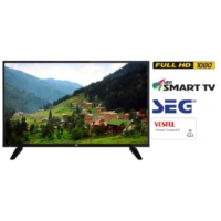 SEG 49SC7600 49'' 124 EKRAN SMART UYDU ALICILI FULL HD LED TV