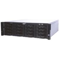 Scsı Network Kayıt Cihazı 64Knl H264 384Mbps Raıd 96Tbx16Hdd 2Hdmı/Vga