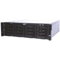 Scsı Network Kayıt Cihazı 128Knl H264 384Mbps Raıd 96Tbx16Hdd 2Hdmı/Vga