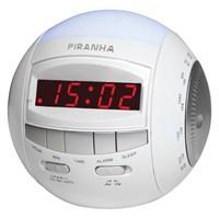 Piranha Timezone N Type Alarmlı Radyolu Dijital Saat