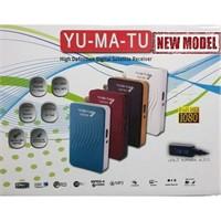 Yumatu Full Hd Mini Uydu Alıcısı 1080P Siyah