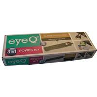 eye-Q EQ-POWERKIT1 3'LÜ POWERKIT (6'lı akım koruyucu priz+altın uçlu HDMI+100 ml temizlik seti)