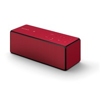 Sony SRS-X3 Portatif NFC Bluetooth Kablosuz Hoparlör (Kırmızı)