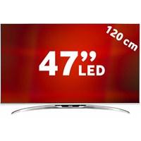 """Vestel 47PF9090 47"""" 120 Ekran Full HD 600 Hz Uydu Alıcılı Smart Çift Ekran 3D LED TV + 4 Adet 3D Gözlük Hediyeli"""
