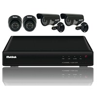 MULTİTEK DVR KIT 5004 4 KANAL DVR & KAMERA SETİ
