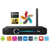 Himedia Q3 Quad Core ( 4K+H265 ) Smart TV Box