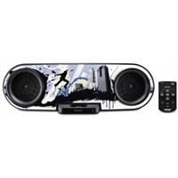 Sony RDH-SK8iP Özelleştirilebilir Ön Grafikli iPod/İphone Bağlantı İstasyonlu Portatif Müzik Çalar