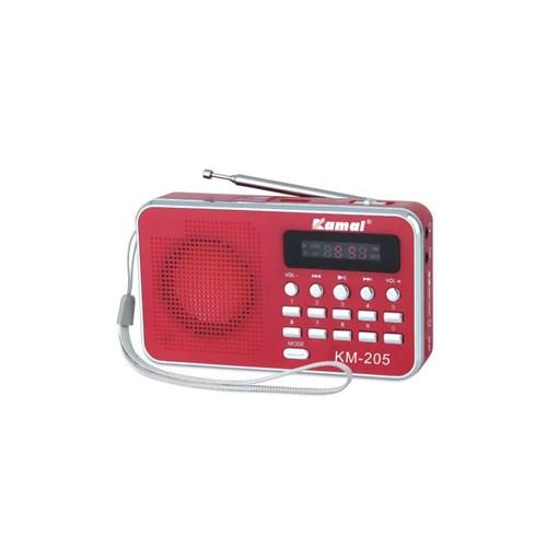 Kamal Km-205 Usb+Sd Mp3 Çalar Şarjlı Radyo