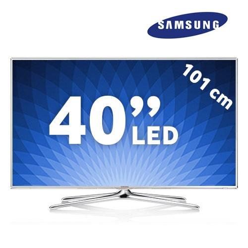 """Samsung UE-40F6510 40"""" 400Hz WiFi Uydu Alıcılı UsbMovie SMART 3D LED TV + 2 Adet Gözlük(BeyazKasa)"""