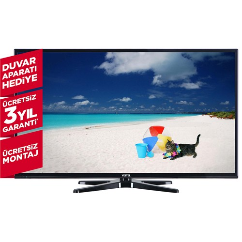 "Vestel 40FA7100 40"" 101 Ekran Full HD 400 Hz Uydu Alıcılı Smart LED TV"