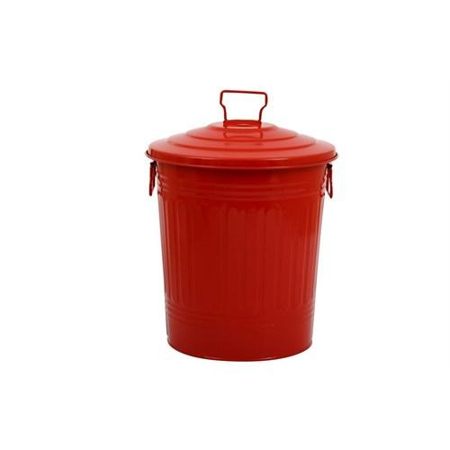 Fidex Home Çöp Kovası-Kırmızı