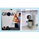 Grow Smart Dolap İçi Çöp Kovası Paslanmaz Krom