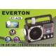 Everton Everton Rt-42B Usb Ve Kart Girişli Şarjlı Elektrikli Pilli Radyo