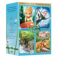 Tinker Bell 4 Film Box Set (3 Tinker Bell Film+Yepyeni Bir Macera)