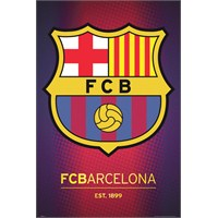 Barcelona Club Crest 2013 Maxi Poster