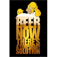 The Simpsons Solution Maxi Poster