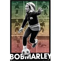 Bob Marley Football S.O.S Maxi Poster