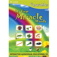 My First Miracle Words: Vegetables