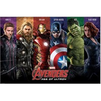 Maxi Poster Avengers Age Of Ultron Team