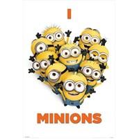 Maxi Poster Despicable Me I Love Minions
