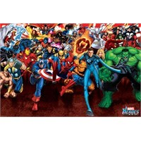 Marvel Heroes Attack Maxi Poster
