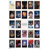 Maxi Poster Star Wars One Sheet Collage