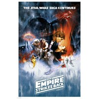 Maxi Poster Star Wars The Empire Strikes Back One Sheet