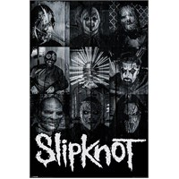 Maxi Poster Slipknot (Masks)