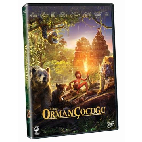 Jungle Book (Live Action) (Orman Çocuğu) (DVD)