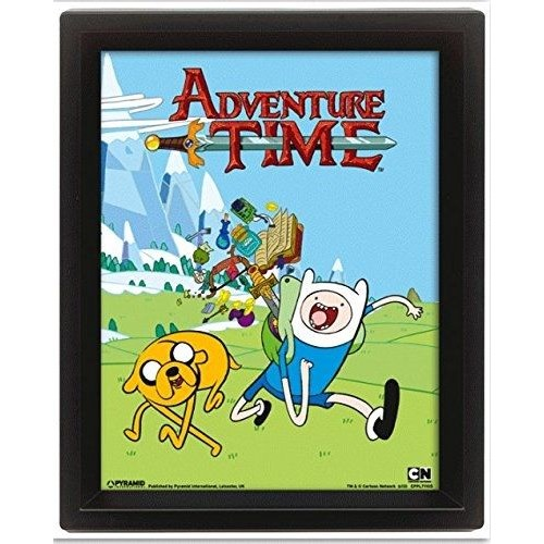 Pyramid International 3 Boyutlu Poster - Adventure Time Goodies