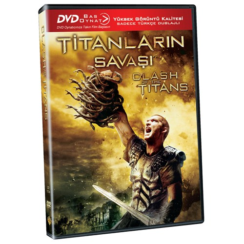 Titanlarin Savaşı (Clash Of The Titans) (Bas Oynat DVD)