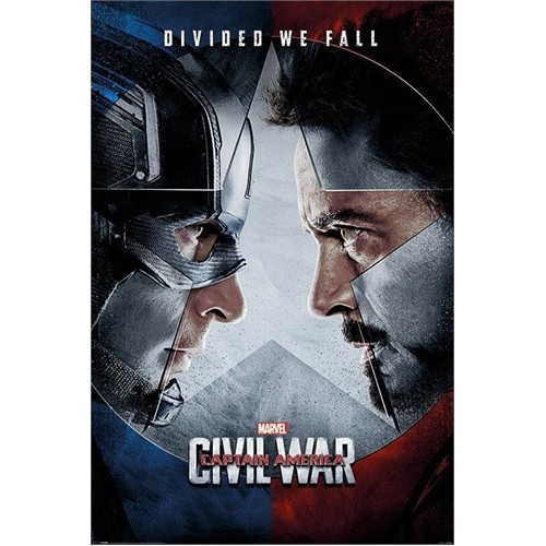 Pyramid International Maxi Poster Captain America Civil War Face Off