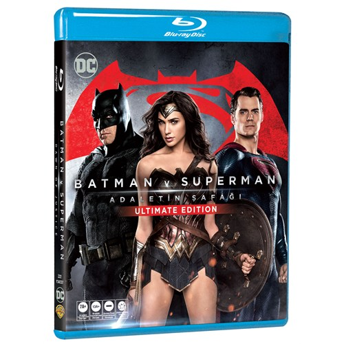 Batman Vs Superman: Dawn Of Justice Ultimate Edition (Batman V Superman: Adaletin Şafağı Ultimate Edition) (Blu-Ray Disc)