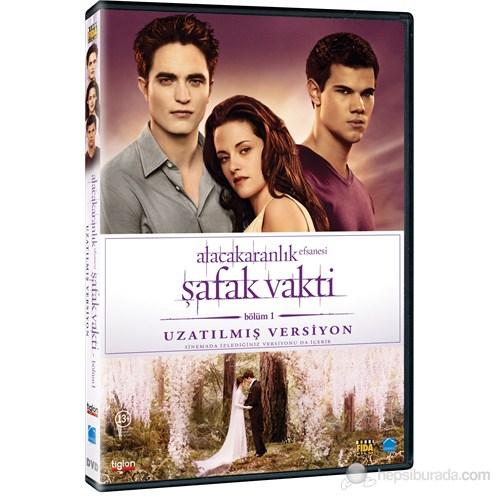 The Twilight Saga: Breaking Dawn - Part 1 - Extended Edition (Alacakaranlık Efsanesi: Şafak Vakti - Bölüm 1- Uzatılmış Versiyon) (DVD)