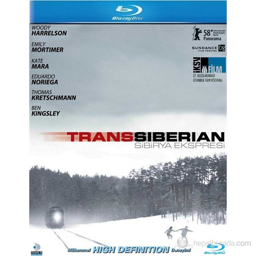 Transsiberian (Sibirya Ekspresi) (Blu-Ray Disc)