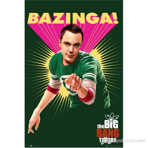 The Big Bang Theory Bazinga Maxi Poster