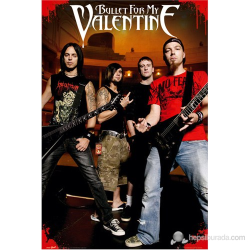 Bullet For My Valentine Theatre Maxi Poster