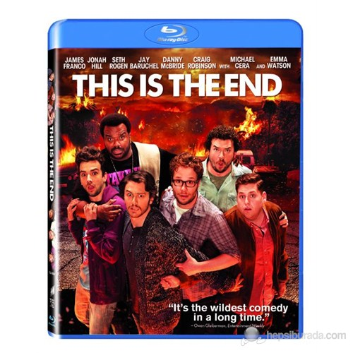 This Is The End (Buraya Kadar) (Blu-Ray Disc)
