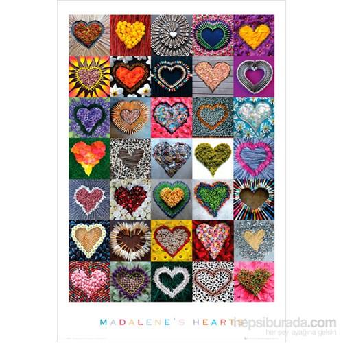 Madalenes Hearts Maxi Poster
